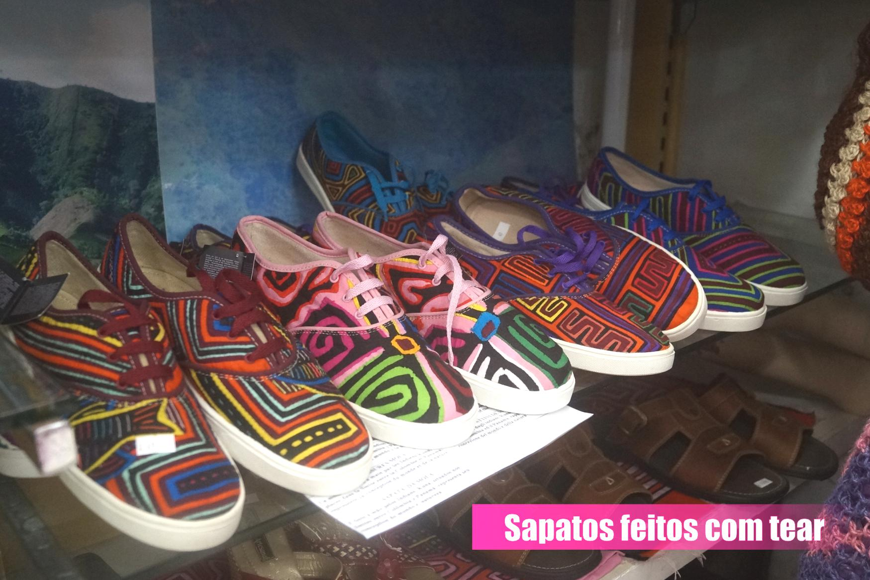 f9f240d71e3 sapatos A Colômbia sempre teve uma riquíssima tradição de artesanato