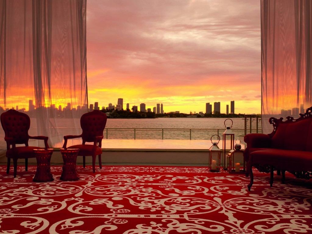 Chieque, elegante e com uma das vistas mais lindas para a baía, o Mondrian é um dos mais requisitados em South Beach