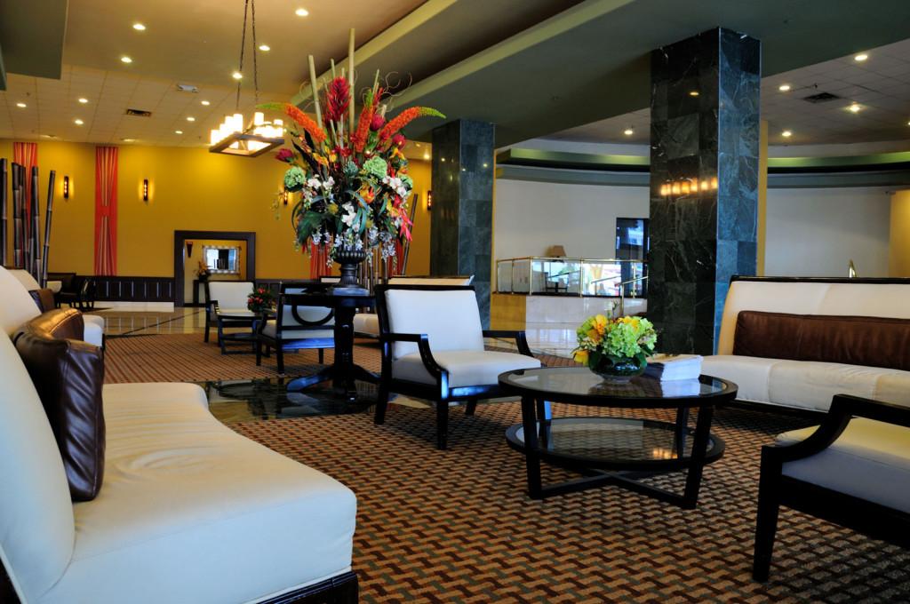 Hall do New Casablanca: bom preço e conforto na medida