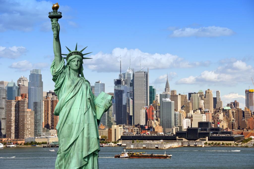Estátua da Liberdade: um dos principais cartões -postais de NY