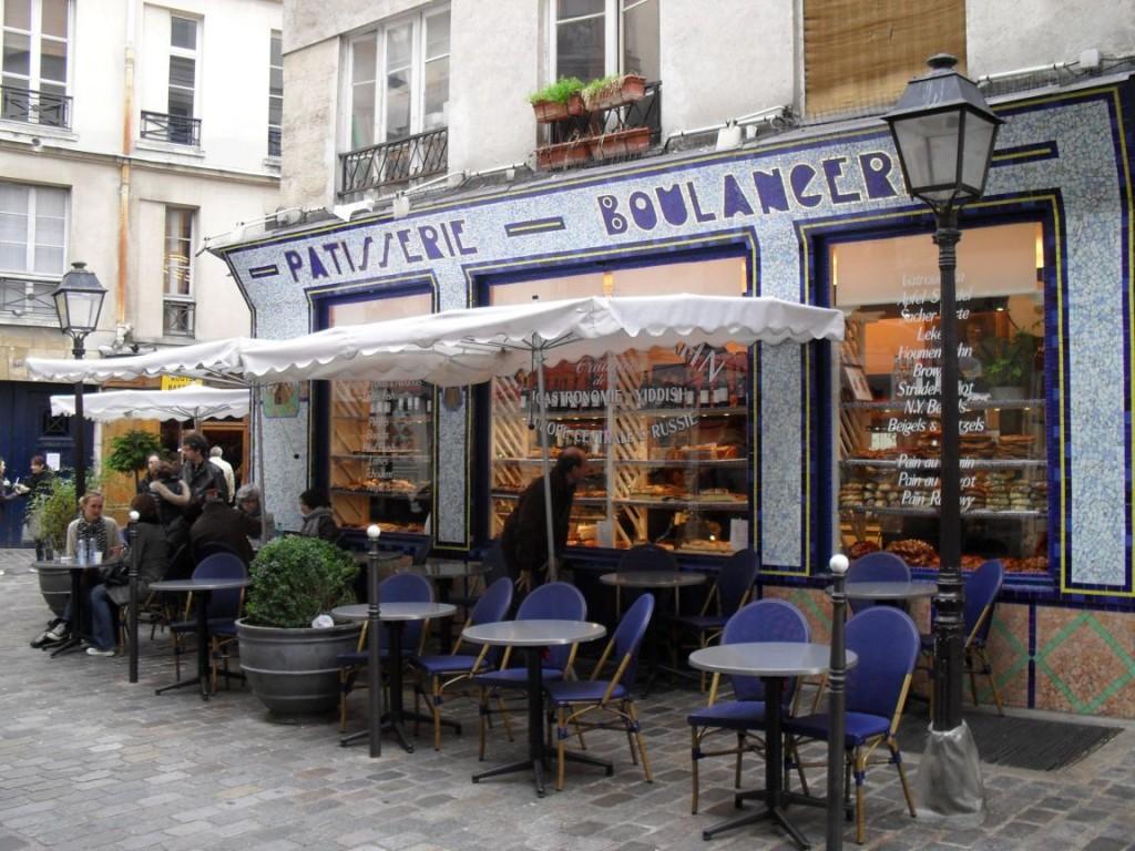 O Le Marais é cheio de cafezinhos fofos como este